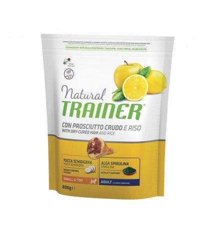 Natural Trainer Con Prosciutto Crudo small Toy 800g Croccantini Per Cani Mini