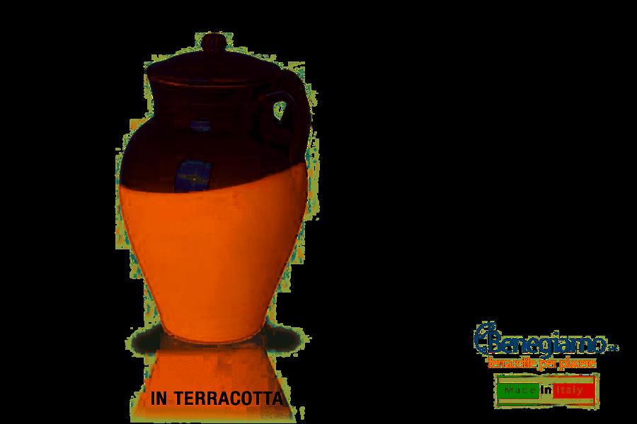 Pignata Fuoco Caldea 37 cm con Coperchio