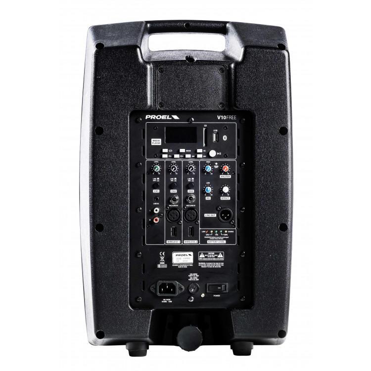 Proel V10FREE + 1 radiomicrofono U24