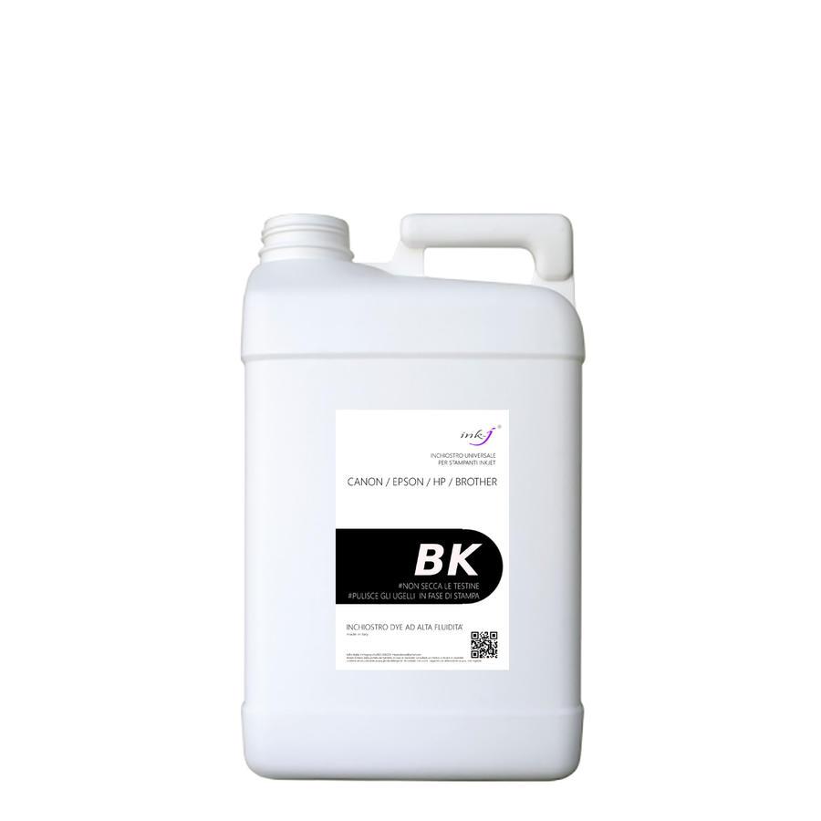 4 litri inchiostro dye universale BLACK compatibile per le marche canon- epson -hp -brother