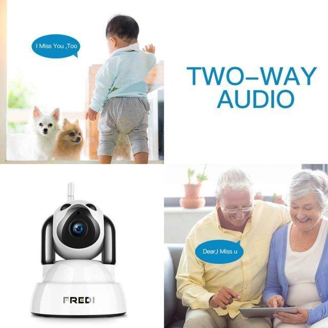 Telecamera di Sorveglianza Wifi Wireless Camera Interno Telecamera wi-fi YYZ100
