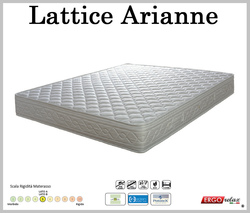 Materasso Lattice Mod. Arianne 90 Zone Differenziate Fodera Cotone Altezza Cm. 18 - Ergorelax