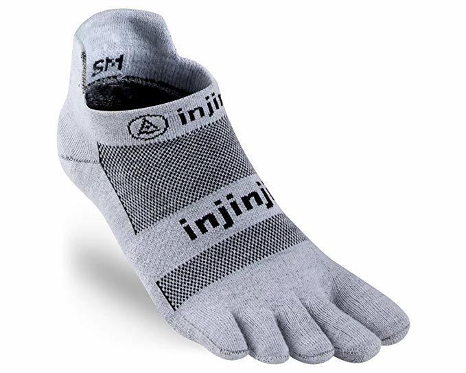 Calzini Injinji Run Light Weight No-Show Grigio