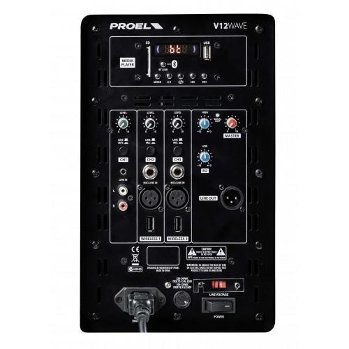 Proel V12WAVE + 1 radiomicrofono U24