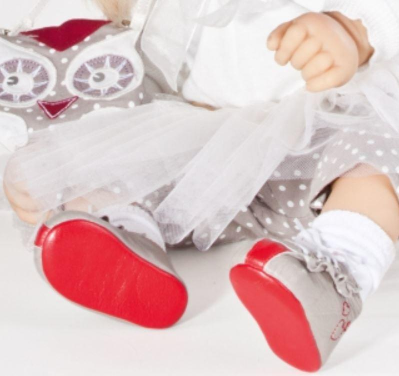 """Bambola da Collezione Vinile """"Marie di Bettine Klemm"""" con Gonnellina in Chiffon e Borsetta Ricamata, edizione limitata 500 pezzi Gotz Made in Germany"""