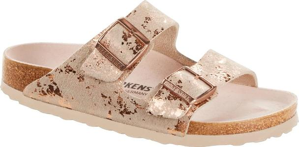 Birkenstock - Arizona - Vintage Metall. Rose Copper