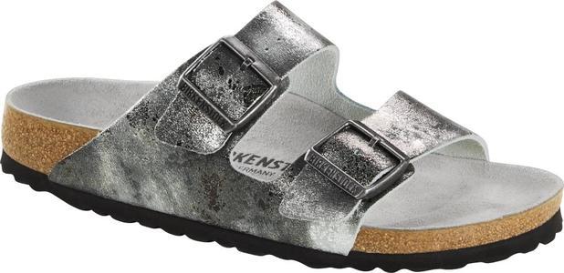 Birkenstock - Arizona - Vintage Metall. Grey Silver