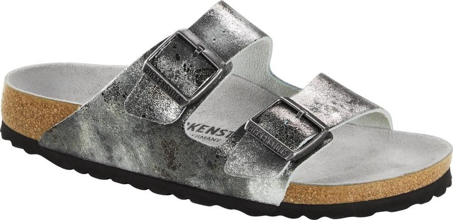 Birkenstock - Arizona - Vintage Metall. Grey Silver