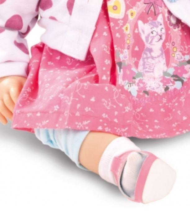 """Bambola da Collezione Vinile """"Katrine di Bettine Klemm"""" con Vestitino e Sandaletti Rosa, edizione limitata 250 pezzi Gotz Made in Germany"""
