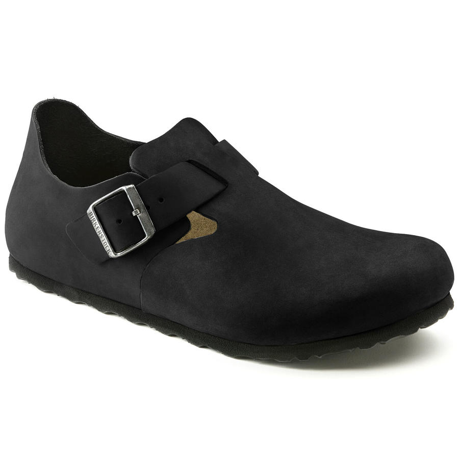 Birkenstock - London - Black Oiled