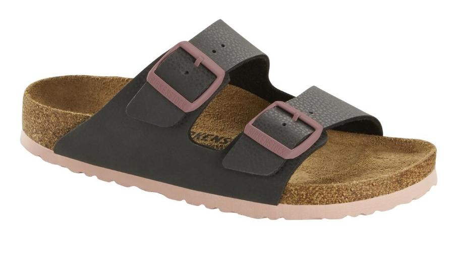 Birkenstock - Arizona - Desert Soil Black + Soft Pink