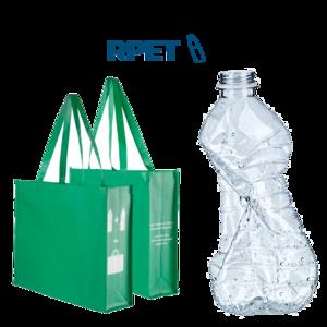 Shopper in RPET Personalizzata PQ24274 da 100 pz