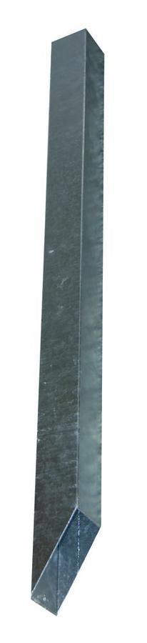 Contenitore di sicurezza a piantana per elettrificatori, in metallo zincato