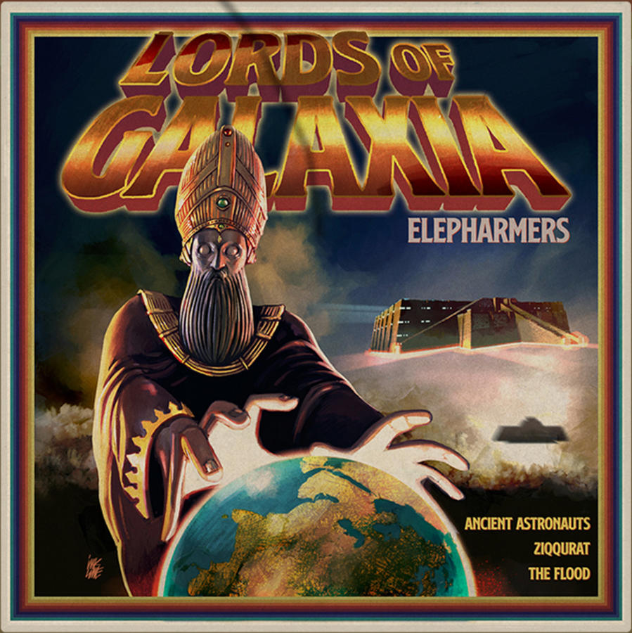 ELEPHARMERS - LORDS OF GALAXIA  LP COLORED GATEFOLD