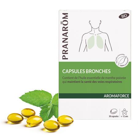Pranarom - Aromaforce Oleocaps bronchi