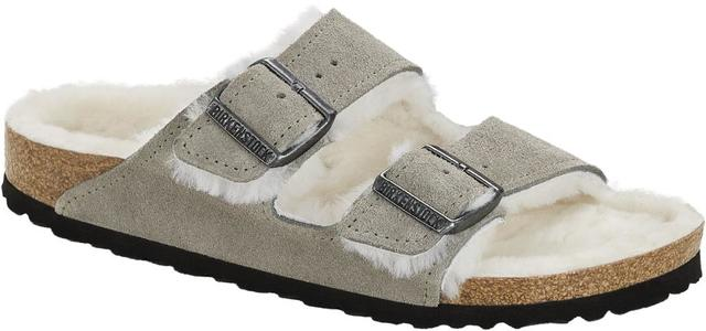 Birkenstock - Arizona Shearling - Stone Coin