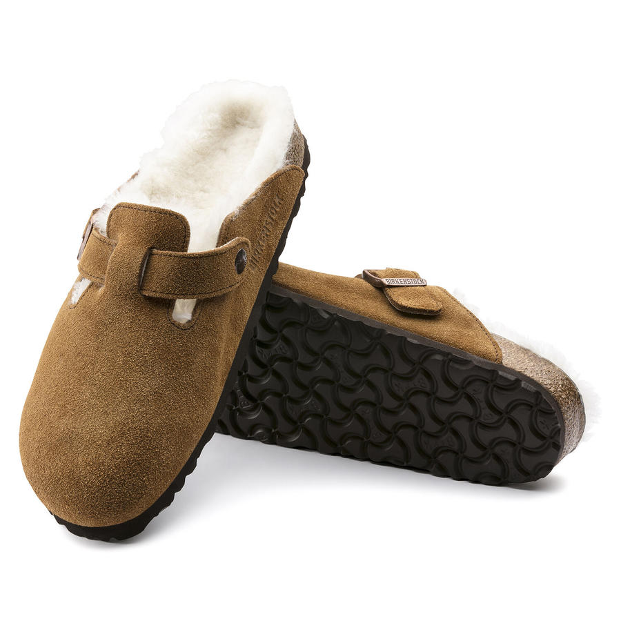 Birkenstock - Boston Shearling - Mink