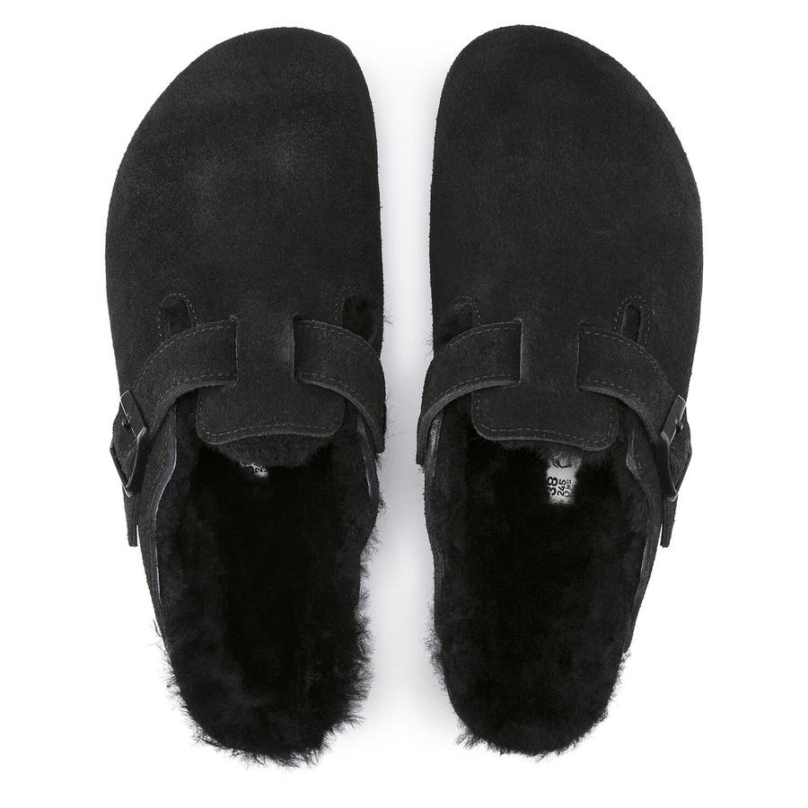 Birkenstock - Boston Shearling - Black
