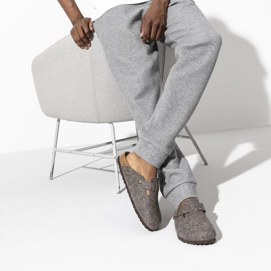 Birkenstock - Boston Wool - Cocoa