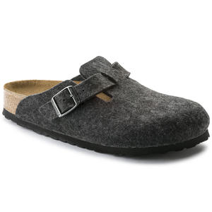 Birkenstock - Boston Wool - Anthracite