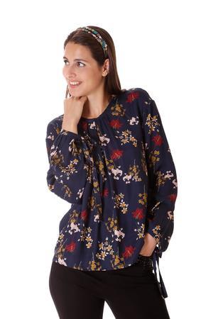 MIMi' MUA' FIRENZE blusa stampa floreale