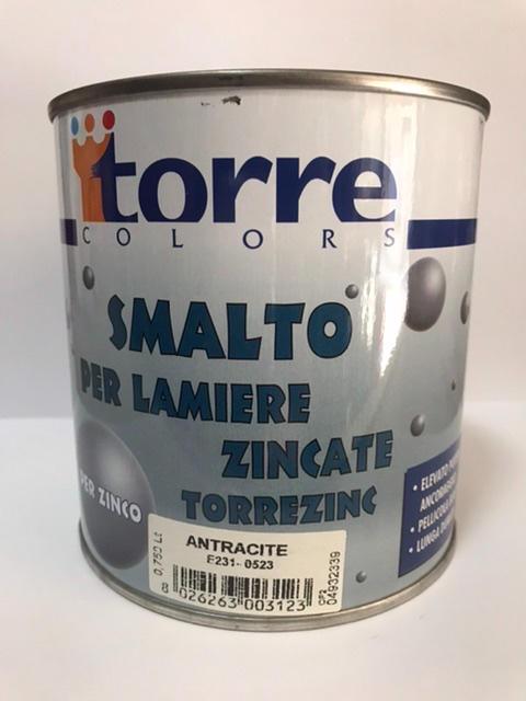 Smalto per lamiere zincate Torrezinc