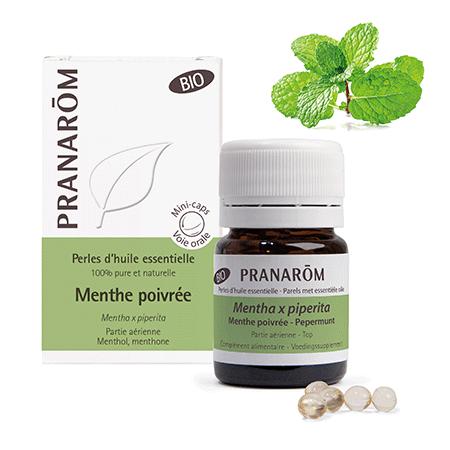Pranarom - Menta piperita bio Perle olio essenziale