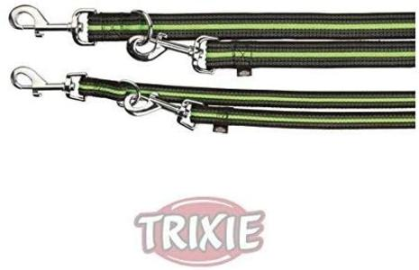 Trixie Fusion S Guinzaglio Addestramento Cani Regolabile in 3 Misure 2 Metri Verde