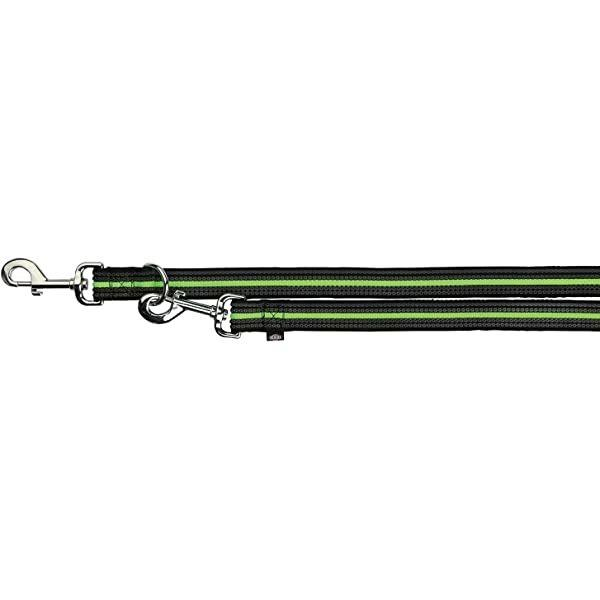 Trixie Fusion XL Guinzaglio Addestramento Cani Regolabile in 3 Misure 2 Metri Verde