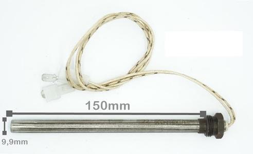 Resistenza per Accensione 300W-230V Diam. 9,52x152,4MM