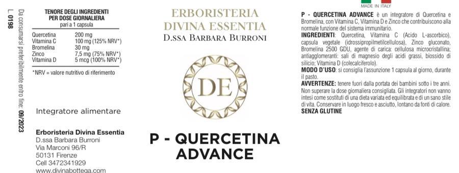 Quercetina-advance con bromelina