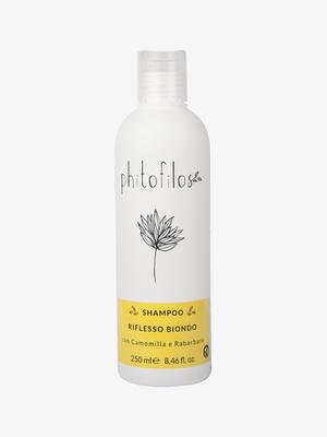 Shampoo Riflesso Biondo con Camomilla e Rabarbaro – Ecobio Capelli