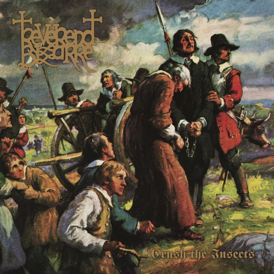 REVEREND BIZARRE - CRUSH THE INSECTS -  2LP (Svart Records)