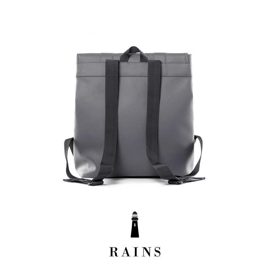 Rains MSN Bag - Charcoal