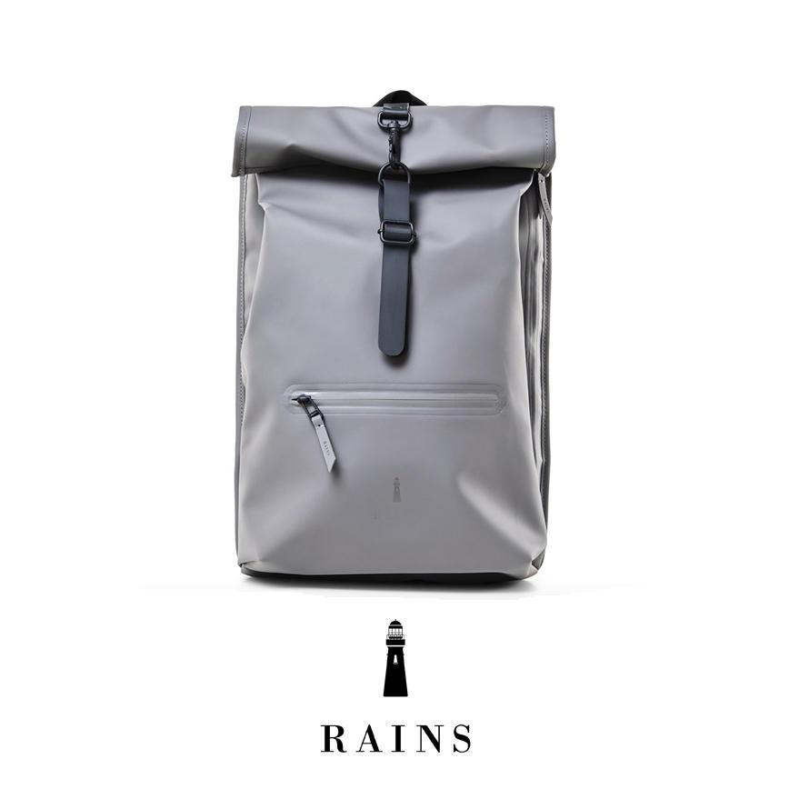 Rains Rolltop Rucksack - Charcoal