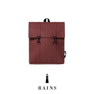 Rains MSN Bag Mini - Maroon