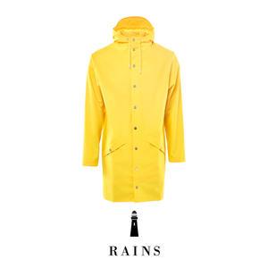 Rains Long jacket - Yellow