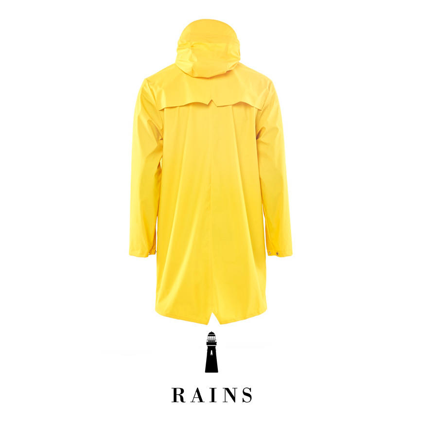 Rains Long jacket - Yellow