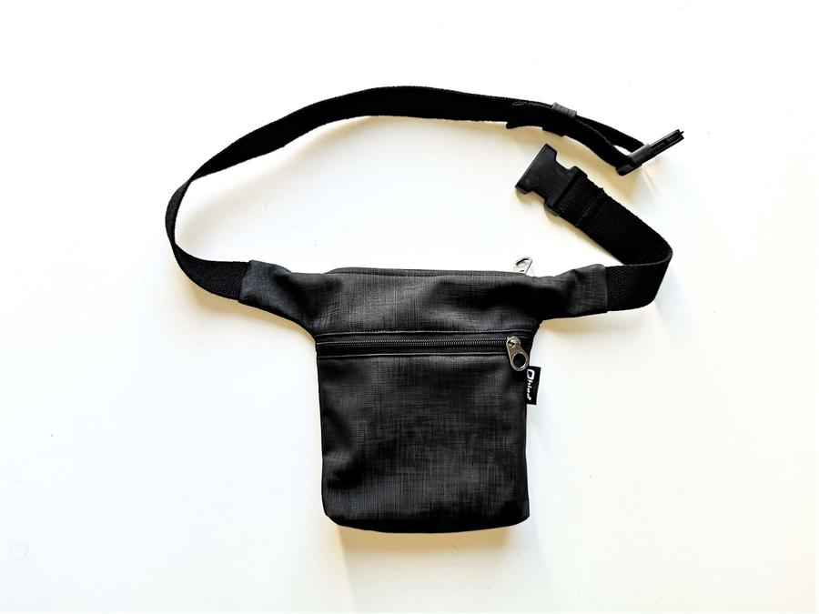 "Hip Bag ""Paris"" black/green/grey"