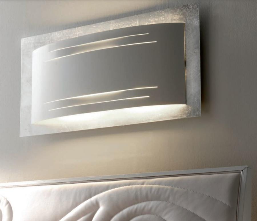 Lampada da Parete Artù di Febo Grande in Metallo con Rifiniture, Varie Finiture - Offerta di Mondo Luce 24