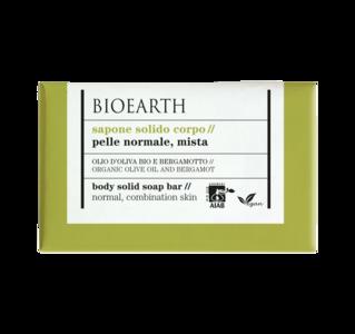 Bioearth - Sapone solido corpo pelle normale e mista