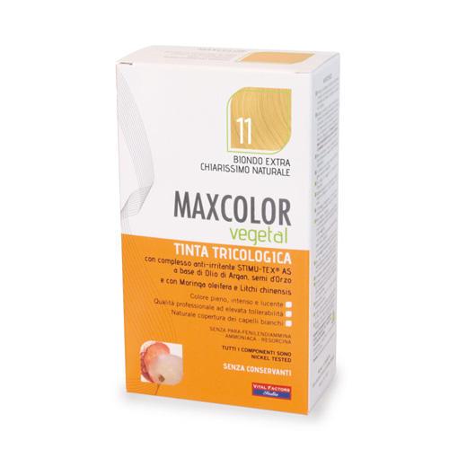 Farmaderbe - Max color vegetal 11 Biondo extra chiarissimo naturale