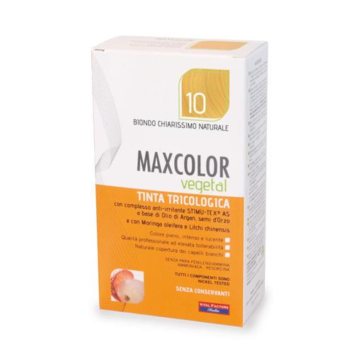 Farmaderbe - Max color vegetal 10 Biondo chiarissimo naturale