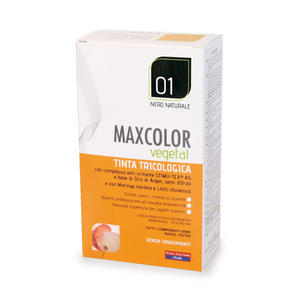 Farmaderbe - Max color vegetal 01 Nero naturale