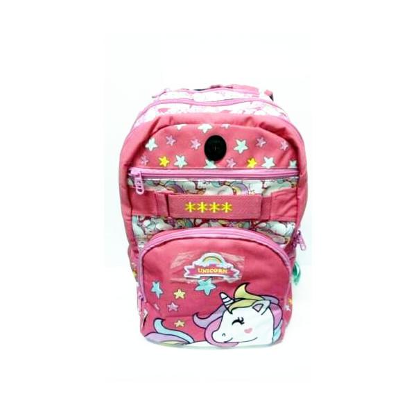 Zaino scuola ovale Unicorno - MariCart 71032