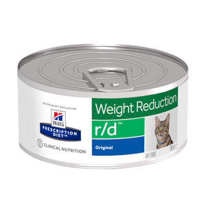 Hill's r/d Weight Reduction 156g Pollo Cibo Umido Pate Per Gatti a Dieta Dietetico