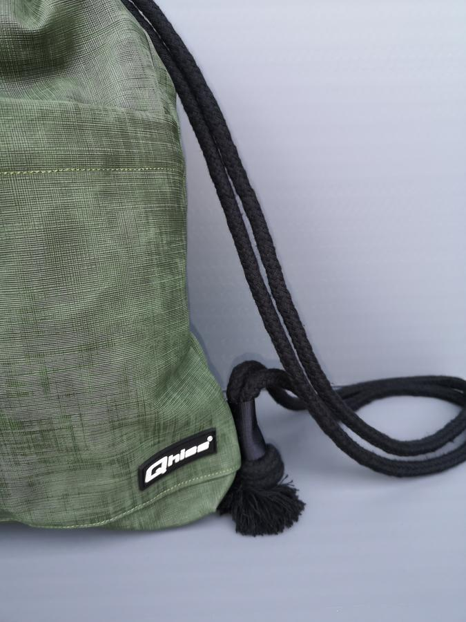 "Bag  ""FREEDOM"" green"