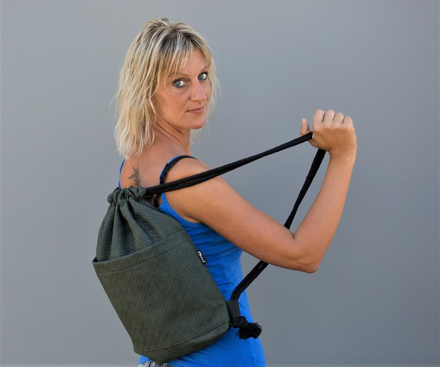 "Bag ""Labyrinth"" green"