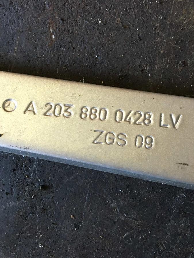 Cerniera Cofano Mercedes W203  - 2038800428
