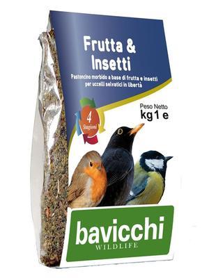 Pastoncino Frutta & Insetti 1 Kg Wildlife
